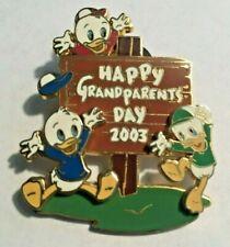 Donalds Nephews Huey Dewey Louie Grandparents Day 2003 Disney Pin Le 1500 #24618