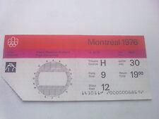 Billet Jeux Olympiques Montréal 30.07.1976 - Wrestling (19:00)