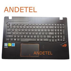 For ASUS GL553VW FX553VD FX53VD ZX53 Palmrest Cover Backlit US Keyboard Touchpad