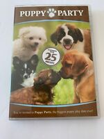Puppy Party (DVD, 2009) Featuring 25 Breeds VGC