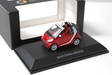 1:43 Minimax Spark Smart Fortwo Cabriolet red DEALER NEW bei PREMIUM-MODELCARS