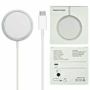 For Apple USB TYPE-C Magnet Mega Safe Wireless Charger iPhone 12 12 Pro Max