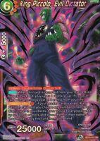 CUNNING STRATEGIST Card Playset 4x Bandai Dragon Ball Super TCG P-114 PICCOLO