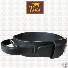 Premium Hundehalsband Vollleder WOZA Lederhalsband Rindnappaleder ОШЕЙНИК H21053