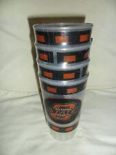 Oklahoma State Cowboys 4 Pack Drink Tumblers 18 oz Cups Collegiate Drinkware