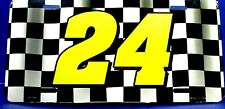 NASCAR #24 Racing Team License plate new aluminum auto tag Made in U.S.A. LP0044