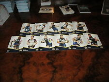 2014 NRL TRADERS NORTH QLD COWBOYS COMMON TEAM SET 11 CARDS THURSTON TATE
