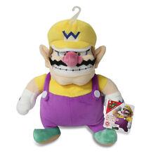 "NEW Sanei Super Mario All Star Collection AC08 Stuffed Plush Doll - 10"" Wario"