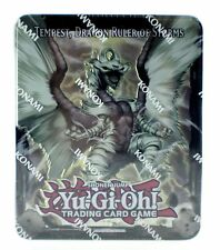 Yu-Gi-Oh Tempest Dragon Ruler of Storms Collectors Tin Trading Card Game NEW