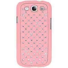 AMZER Diamond Lattice Shell Case for Samsung GALAXY S 3 GT-I9300 - Light Pink