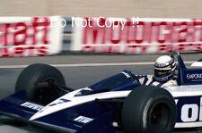 Riccardo Patrese Brabham BT55 Detroit Grand Prix 1986 Photograph 1