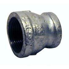 """2"""" in. x 1-1/4"""" in. Galvanized Malleable Iron FPT x FPT Reducing Coupling"""