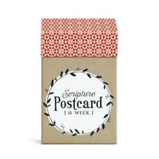 Red Rock Scripture Postcard 52 Week Paperboard Box and Notecard Set
