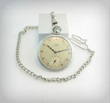 Collectible TISSOT ANTIMAGNETIQUE   ca.1920  Pocket watch..ALL STEEL ..Swiss