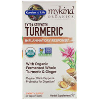 Garden of Life  MyKind Organics  Extra Strength Turmeric  Inflammatory Response