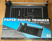 A4 A5 A6 Rotary Precision Paper Photo Card Trimmer Cutter Arts Crafts