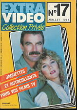 EXTRA VIDEO 17 (7/85) TOM SELLECK CYNTHIA RHODES