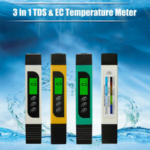 TDS Meter Messgerät Wassertester Digital Wasser Wert EC Tester Chlor LCD