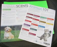 Young Living Tear SINGLE PAPER sheet Essential Oils ANIMALS 101 animal scent how