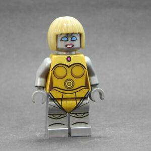 Custom Star Wars minifigures BD3000 gold on lego brand bricks