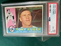 1960 TOPPS TONY KUBEK # 83 GRADED PSA 6  NEW YORK YANKEES