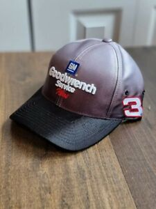 VTG Dale Earnhardt Chase #3 Goodwrench Fade Black to Silver snapback Hat Cap