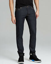PUBLIC SCHOOL PS13 Mens Raw Selvedge Denim Indigo Slim Jeans Blue 28x35 NWT $395