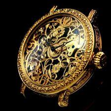 TISSOT Vintage Men's Wrist Watch Gold Skeleton Noble Design Best Mens Wristwatch