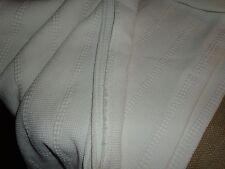 crate u0026 barrel full honeycomb coverlet blanket night spread 80 x 86 100 cotton