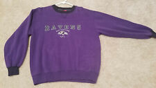 NFL BALTIMORE RAVENS Mens  Embroidered LOGO Sweatshirt Medium
