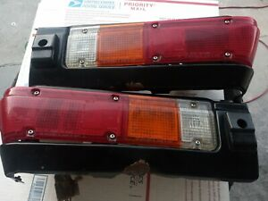 1981 Datsun 720 Pickup truck rear taillights comple asambly oem pair
