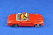SIKU Plastik V 59 -  Mercedes 190 SL, 1950er / 1950ies, 1:60, rot / red