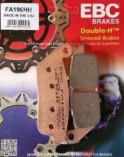 EBC/FA196HH Pastillas De Freno Sinterizadas (frontal) - Honda CB500X, CBR500, NC750S, NC750X
