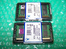 NEW Kingston 4GB DDR2 PC2-6400s 800MHz Laptop Memory (2X 2GB)