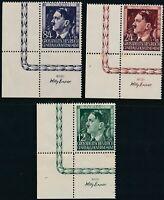 Stamp Germany Poland General Gov't Mi 117-9 Sc NB33-5 1944 WWII Hitler BL MNH