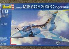 "Revell 1/72 Dassault Mirage 2000 C ""TIGERMEET"" Kit no, 04366 COPYRIGHT 2004"