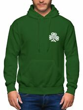 Ireland Rugby Hoodie Men Embroidered Badge Six World Nations Cup Hooded Irish