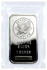 Sunshine Minting Inc. 1 Troy Ounce .999 Fine Silver Bar - MADE IN USA SKU27271