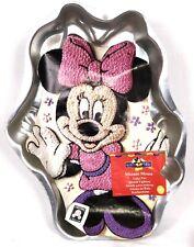 vintage 1998 WILTON Minnie Mouse Aluminum Cake Pan with Illustration 2105-3602