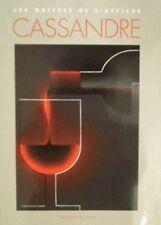 """BOOK/LIVRE : POSTERS / AFFICHE  """" CASSANDRE """""""