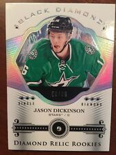 2016-17 UD Black Diamond Hockey Diamond Relic Rookies Jason Dickinson 56/99 BDR-