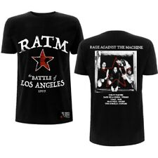 Rage Against The Machine Battle Star Rock T-Shirt Adult Large Tee