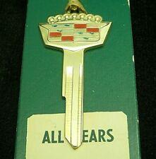 CADILLAC EARLY Gold CREST KEY BLANK 1935-1966 ElDorado DeVille Series 60 62 +
