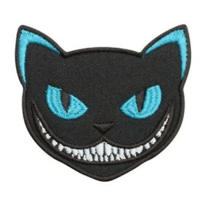 CHESHIRE CAT Embroidered PATCH/BADGE