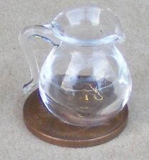 1:12 Scale Glass Jug Dolls House Miniature Kitchen Cooking Drink Accessory G29