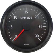 VDO Cockpit International 12V 85mm Tachometer 0-3000RPM 333035004