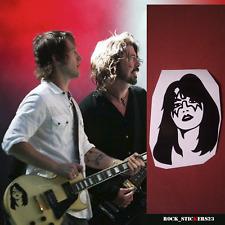 Ace Frehley sticker Kiss vinyl decal Chris Shiflett Gibson Les Paul Foo Fighters