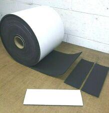 Neoprene Sponge Rubber Sheet w/Peel-Back Adhesive 1/8