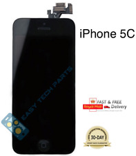iPhone 5C Black Assembled Genuine OEM Quality LCD Digitizer Screen Replacement