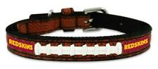 Washington Redskins Toy Leather Lace Dog Collar [NEW] NFL Pet Cat Lead Small XS